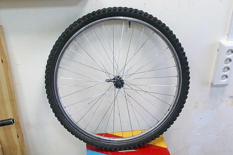 Замена камеры велосипеда