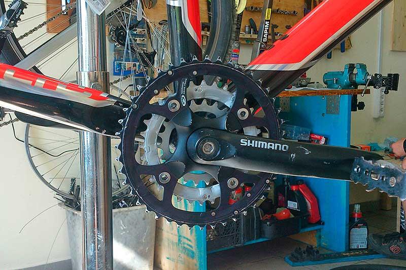 Как отремонтировать каретку велосипеда своими руками 95